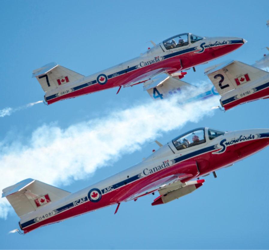Canadian Forces Snowbirds – CT-114 Tutor
