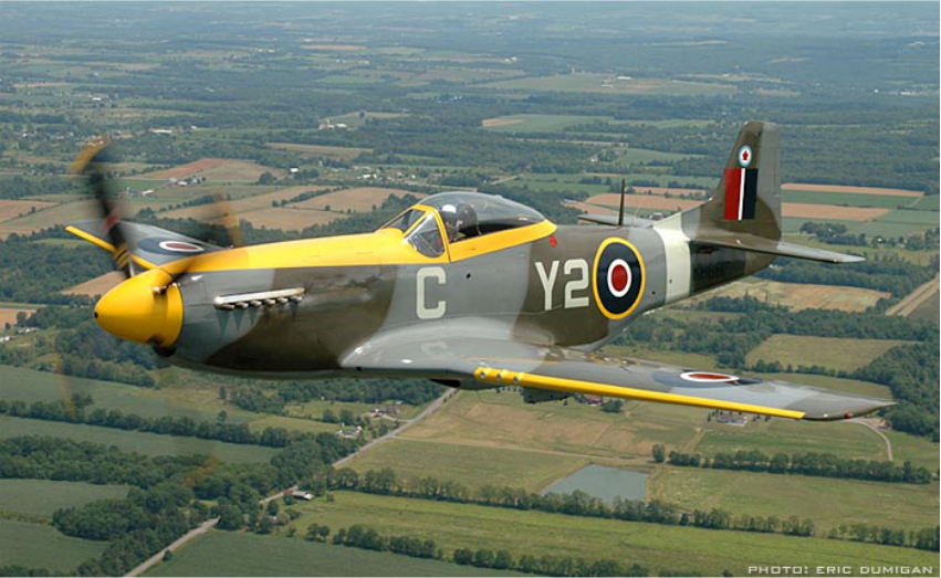 North American P-51  Mustang IV