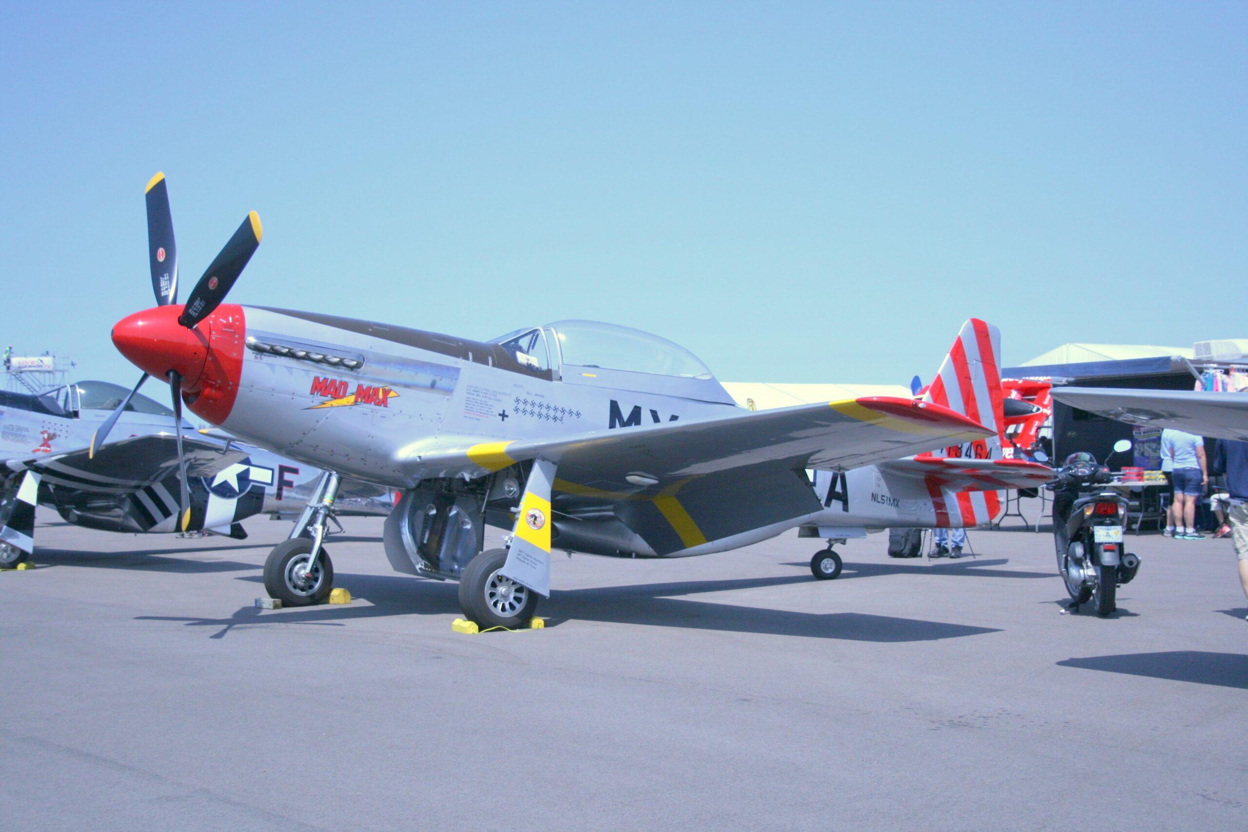 "P-51 Mustang ""Mad Max"""